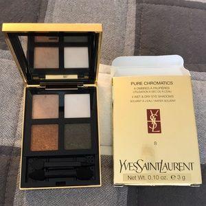 YSL Pure Chromatics Wet/Dry Eyeshadow Quad #8
